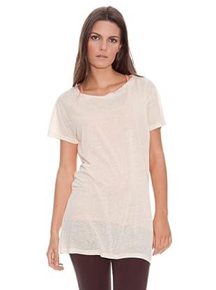 American Vintage Camiseta Silcon valley (marfil)