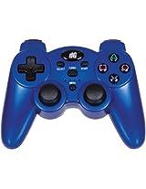 DREAMGEAR DGPS3-1391 PlayStation(R)3 Radium Wireless Controller (Metallic Blue)