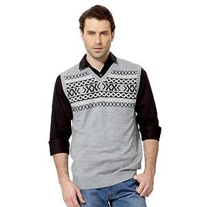V Neck Sleeveless Sweater