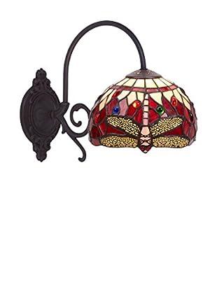 Especial Iluminación Hogar Aplique 1 Brazo Serie Belle Rouge GRANATE/ROSA