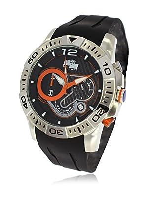 Pit Lane Uhr mit Miyota Uhrwerk Pl-1011-3 schwarz 45 mm