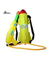 Toyzstation Rocket Water Tank Pichkari With Free Balloons Assorted