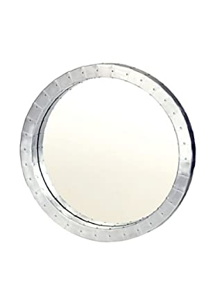 Prima Design Source Aviation-Inspired Metal Mirror, Silver