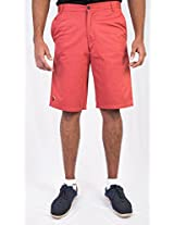 Tequila Shorts Brick Red Shorts (Size - 34)