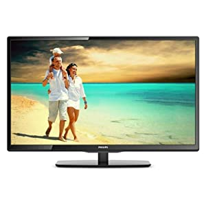 Philips Full HD 40 Inch Classic Black Colored LED TV - Model Number 40PFL4958