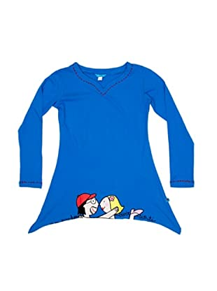 DolÇa Vestido No Puedo Vivir Sin Ti (Azul)
