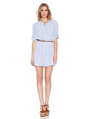 Pepe Jeans London Kleid Chelsea (Blau)