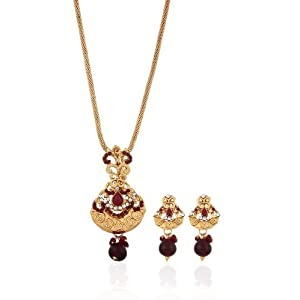 Awesome Looking Indian Jwellery Pendant Set