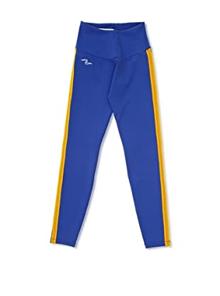 Naffta Pantalón Ajustado (Azul / Mostaza)