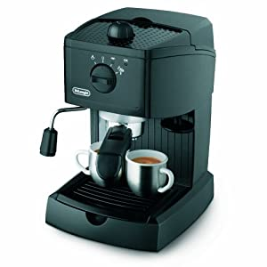 Delonghi EC 145 1100-Watt Cappuccino and Espresso Coffee Maker