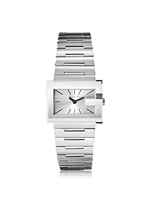 Gucci Women's YA100520 The G Rectangle Silver Stainless Steel Watch