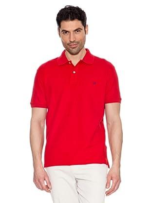 Pedro del Hierro Polo Básico (Rojo)