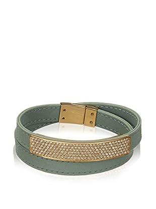Swarovski Armband  goldfarben/grün