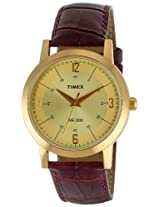 Timex Classics Analog Multi-Color Dial Men's Watch - TI000T10100