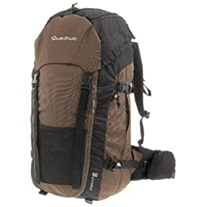 Quechua 1339595 60 L Backpacks Hiking-Brown