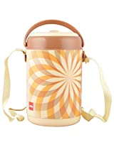 Cello Mark 4 Insulated Lunch Carrier, Brown