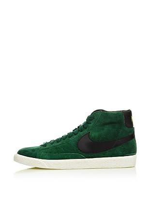 Nike Zapatillas Blazer Suede Vintage (Verde / Negro)