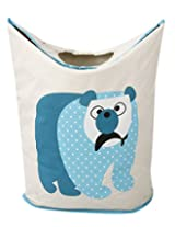 UberLyfe Foldable Polar Bear Laundry Bag cum Storage Box for Kids - Large
