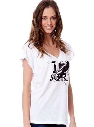 Rip Curl Camiseta Purpurina (Blanco)