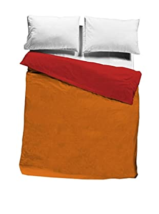 Pikolin Home Saco Nórdico 100% algodón (Naranja)