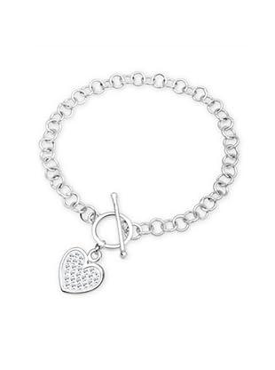 Elli Armband 18 cm silber