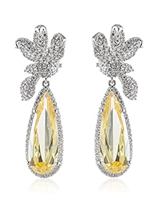 CZ BY KENNETH JAY LANE Ohrringe Bow Drop Pear