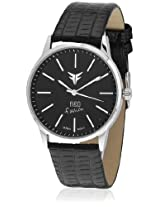 GL-003BLK Black/Black Analog Watch Figo
