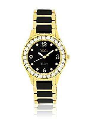 CERAM BY ART DE France Reloj con movimiento Miyota Woman Round Negro 36 mm
