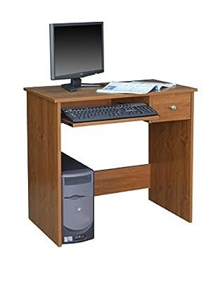 Niche Desk With Pencil Drawer, Warm Cherry