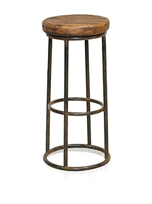 Verde Collection Debra Bar Stool, Natural