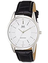 Q&Q Analog White Dial Men's Watch - Q886J301Y