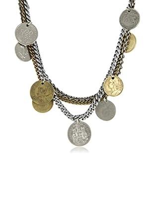 Ettika Two-Tone Legal Tender Vintage Coin Necklace