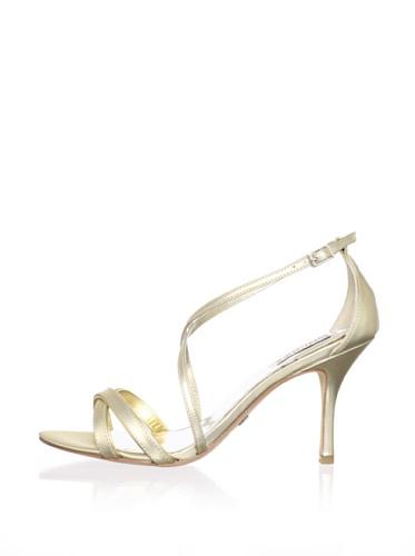 Badgley Mischka Women's Walda Sandal (Gold/Gold)