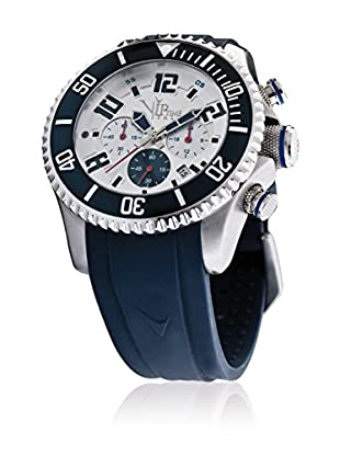 Vip Time Italy Uhr mit Japanischem Quarzuhrwerk VP5047BL_BL blau 47.00  mm