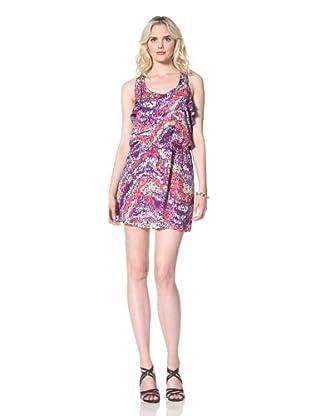 Parker Women's Ruffle Racerback Dress (Cyber Purple)