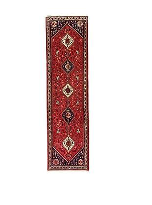 L'Eden del Tappeto Teppich Abadeh rot/blau 305t x t85 cm
