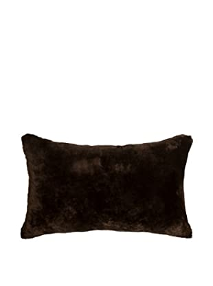 Natural Brand Nelson Sheepskin Pillow (Chocolate)