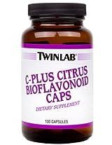 TwinLab - C-Plus Citrus Bioflavonoid Cap, 100 capsules