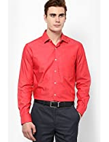 Red Full Sleeve Formal Shirts