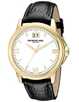 Raymond Weil Men's 5476-P-00307 Analog Display Quartz Black Watch