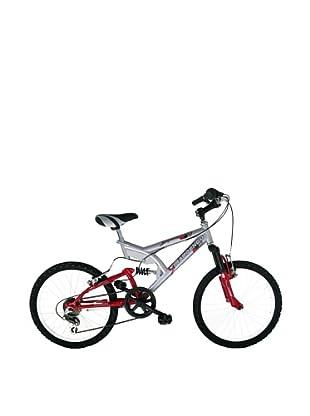 Girardengo Bicicleta Mtb Full Suspensión Acero Gris Única