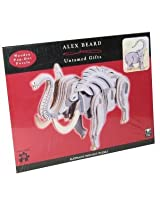 3D Wooden Elephant Puzzle by Alex Beard