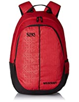 Wildcraft 27 Ltrs Red Casual Backpack (Bricks 1)