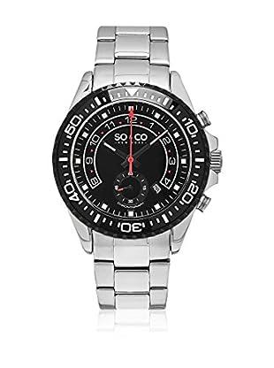 So&Co New York Reloj con movimiento cuarzo japonés Man New York Gp15341 Black