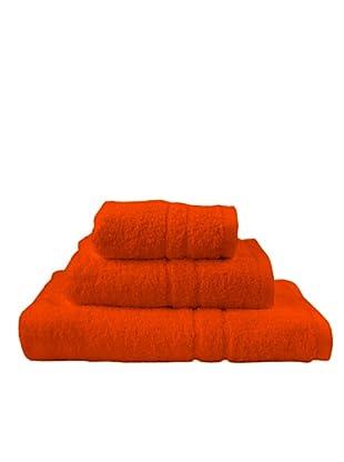 Little W Juego de Toallas Basic (Naranja)