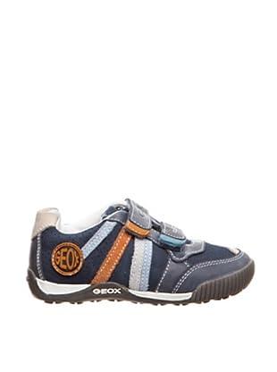 Geox Zapatillas Olimpus (Azul / Naranja)