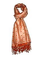 She Dezire orange silk stole