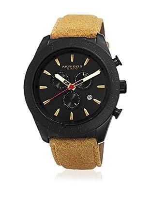 Akribos XXIV Reloj con movimiento cuarzo suizo Man AK701TN Beige