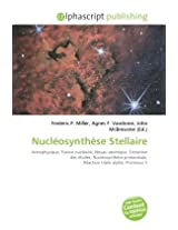 Nuclosynthse Stellaire