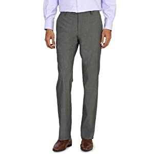 Louis Philippe Textured Business Trousers